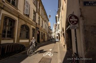Auf zwei Rädern durch Straßburg