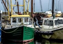Im Hafen von Oudeschild