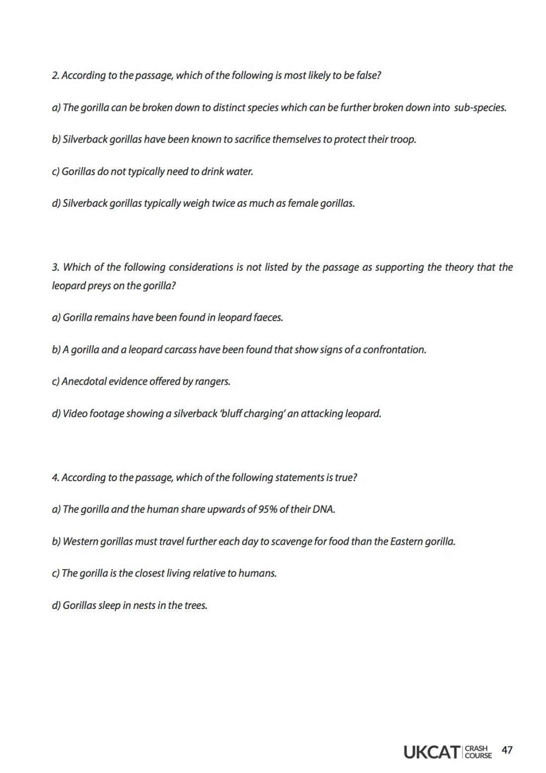 6med UCAT Crash Course Workbook - Verbal Reasoning