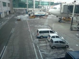 En el aeropuerto de Incheon