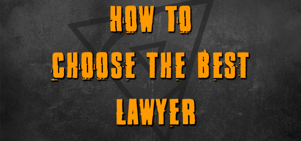 How To Choose A Lawyer For Rappers