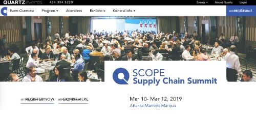SCOPE Supply Chain Summit