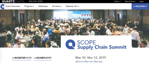 SCOPE Supply Chain Summit