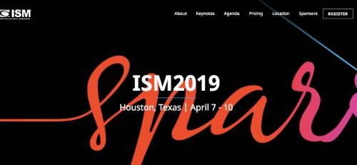 ISM 2019