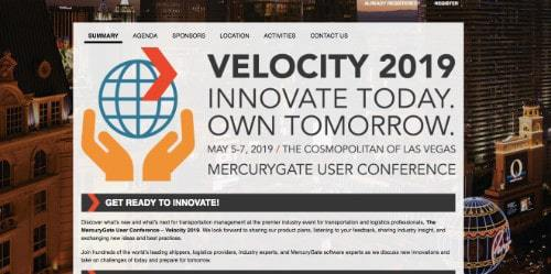 Velocity 2019 MercuryGate User Conference