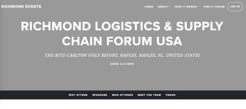 Richmond Logistics and Supply Chain Forum USA