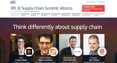 3PL and Supply Chain Summit: Atlanta
