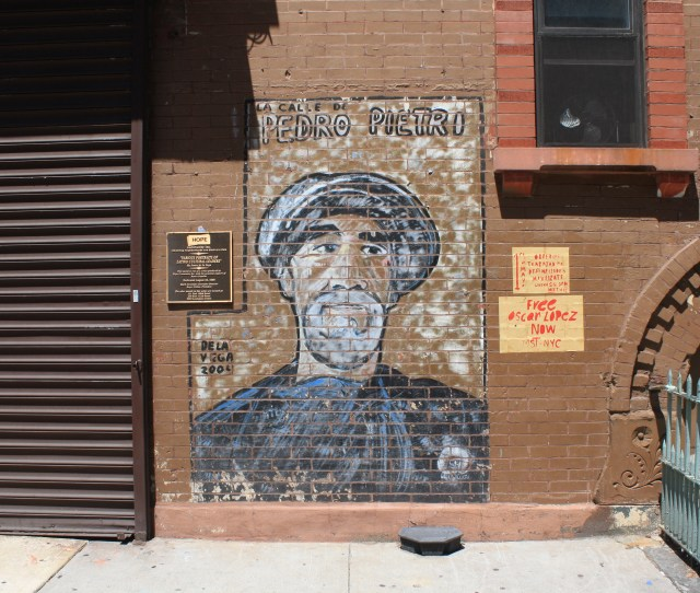 Mural Pedro Pietri Homage To Picasso