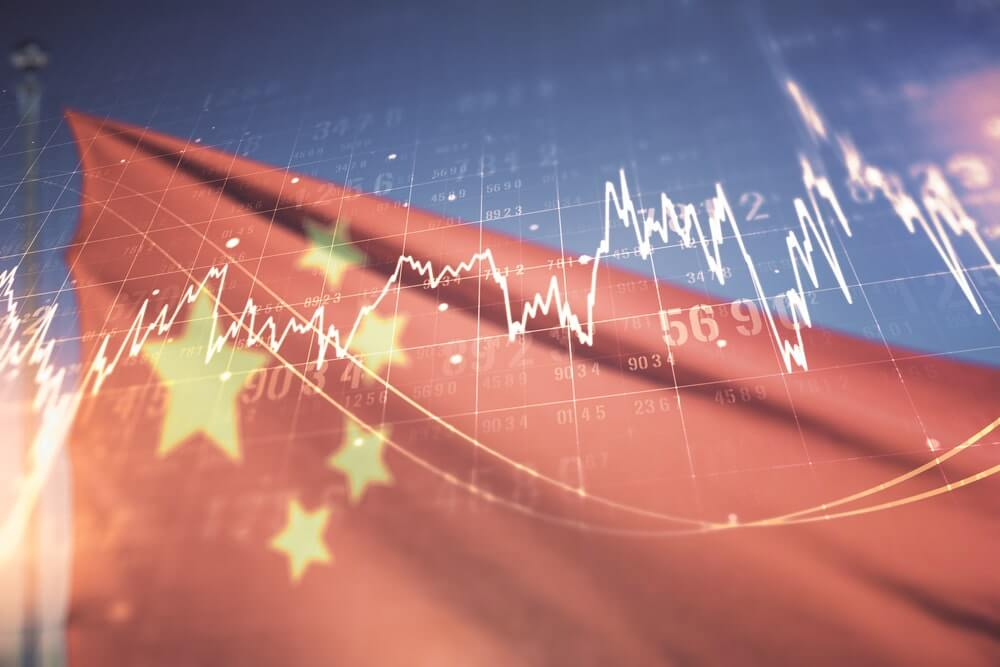 chinese stock market, China's debt increased dramatically