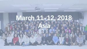 March 11-12, 2018 Asia