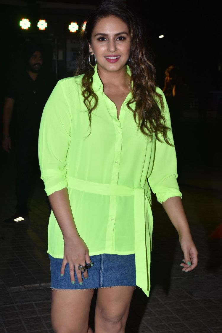 Ananya Panday And Huma Qureshi Dazzle In Neon Top