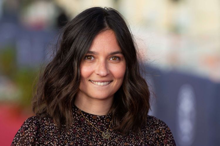 Pretty Tiphaine Flaunts Her Beautiful Smile At Cabourg Film Festival