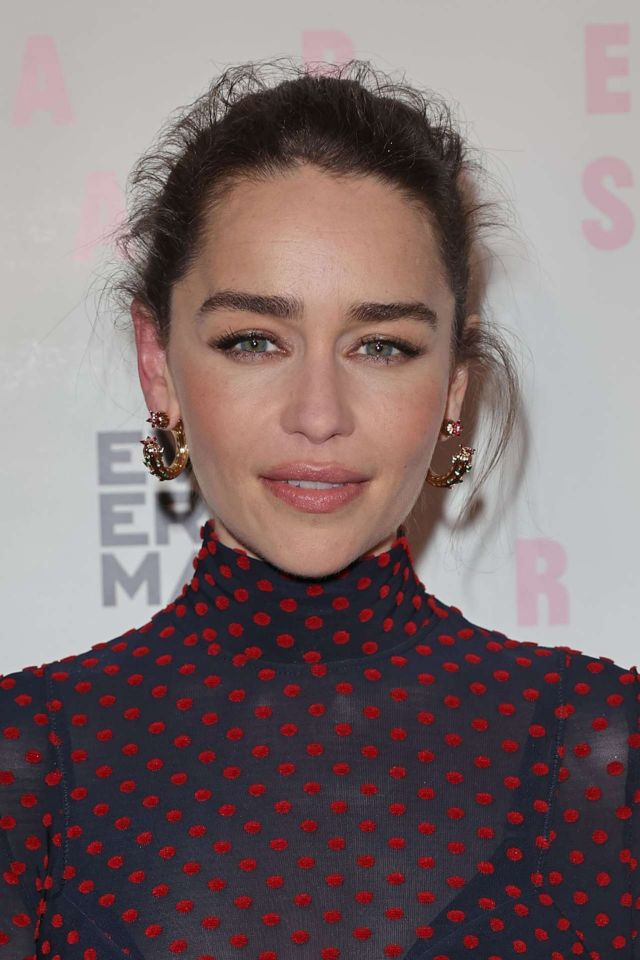 Gorgeous Emilia Clarke At The Premiere Of 'Rare Beasts' In London