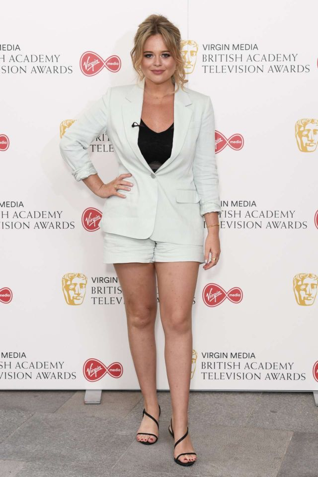Emily Atack Attends British Academy Television Awards In London