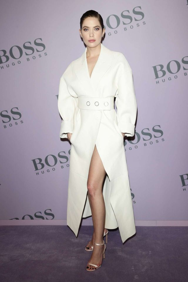 Ashley Benson At The BOSS Show At Milan Fashion Week F/W 2020/21