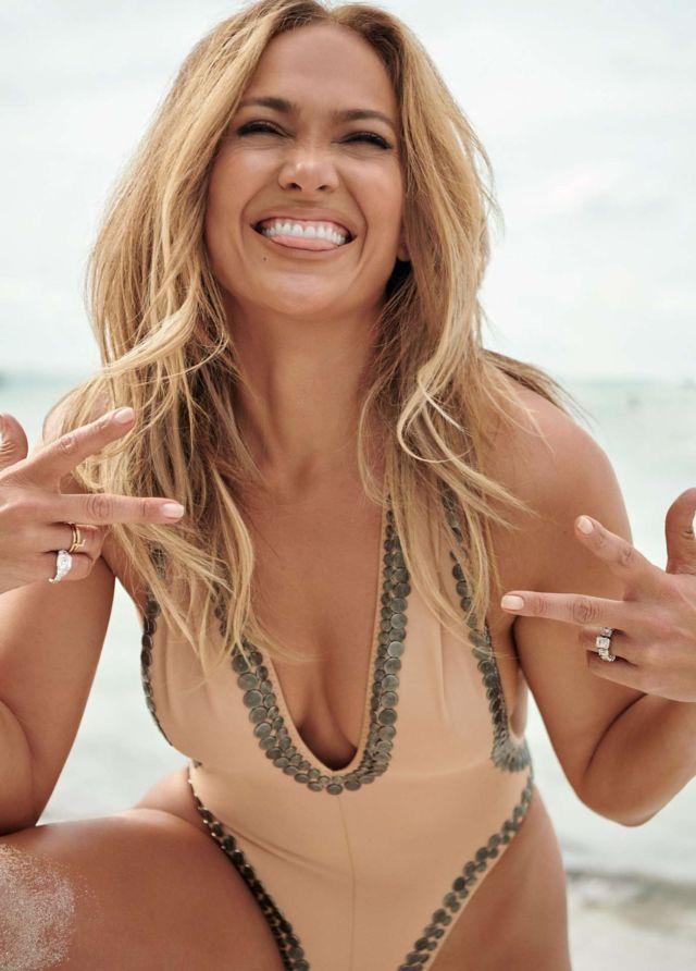Glamorous Jennifer Lopez In InStyle Magazine 2021
