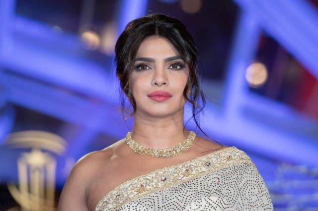 Priyanka Chopra In A Saree At The Tribute To Australian Cinema At 18th Marrakech Film Festival