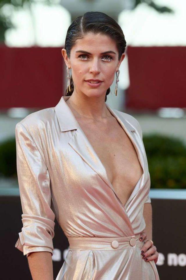 Stephanie Cayo Attends The Premiere Of 'Con Quien Viajas' At 24th Malaga Film Festival