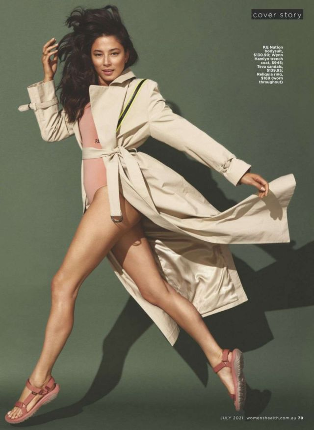 Gorgeous Jessica Gomes Got Featured In Women's Health Magazine Australia 2021
