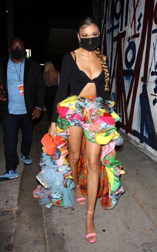 Madison Bailey After Attending The MTV Awards 2021 At The Hollywood Palladium
