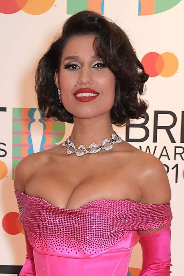 Gorgeous Raye Turned Heads At The BRIT Awards 2021