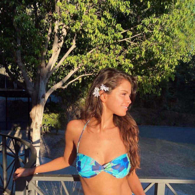 Selena Gomez Shoots For La'Mariette Swimwear