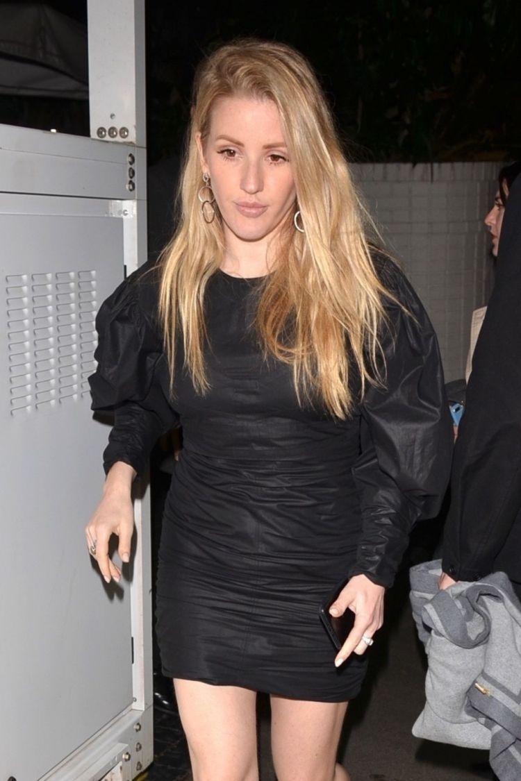 Ellie Goulding Moves Out The Chateau Marmont After A Pre-Oscar Event