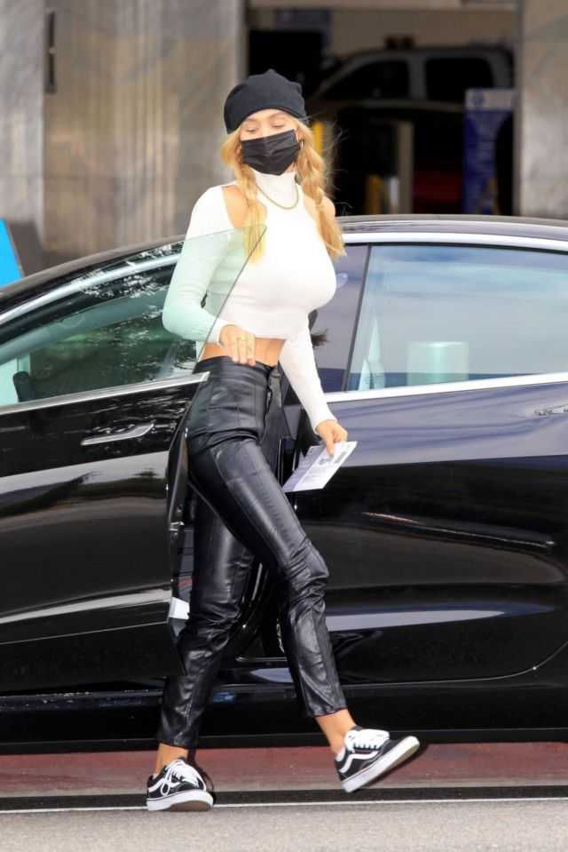 Stylish Alexis Ren Spotted Out In West Hollywood