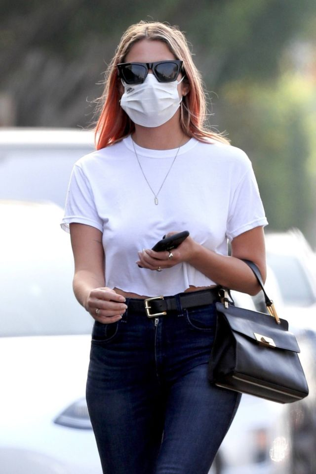 Ashley Benson Out And About Candids In West Hollywood
