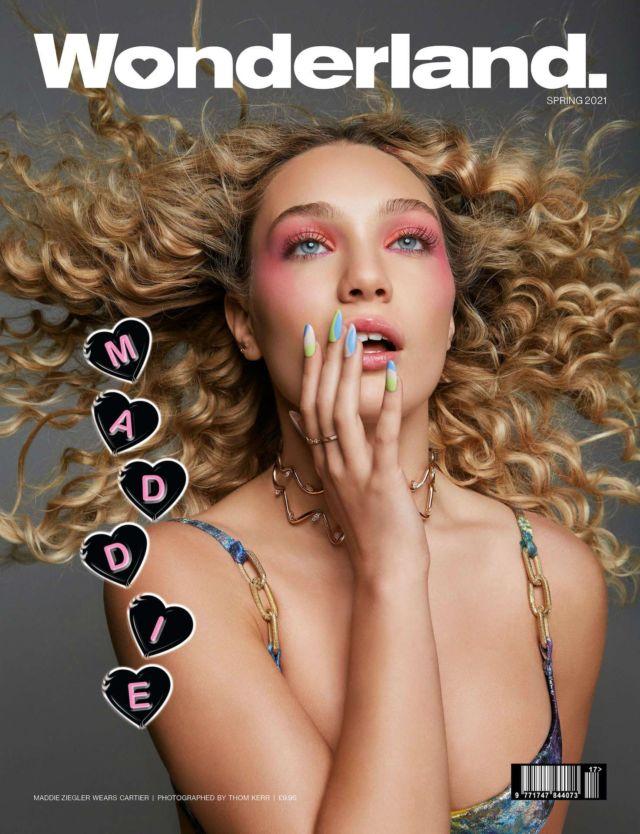 Maddie Ziegler Covers Wonderland Magazine (Spring 2021)