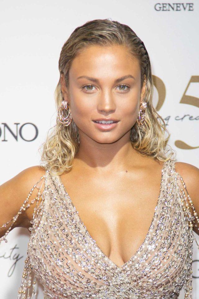 Rose Bertram Dazzles At De Grisogono Party In Cannes