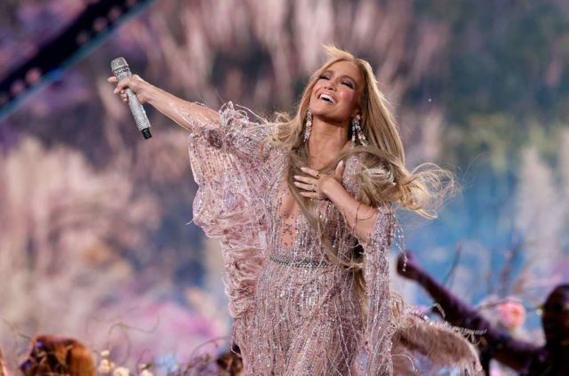 Jennifer Lopez Performs At Global Citizen VAX LIVE: The Concert To Reunite The World