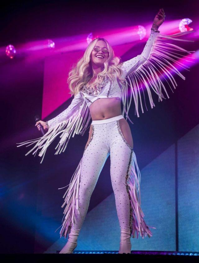 The Sensational Rita Ora Performs Live At O2 Academy
