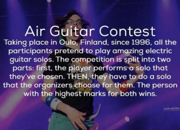 16 Weirdest Competitions Around The World