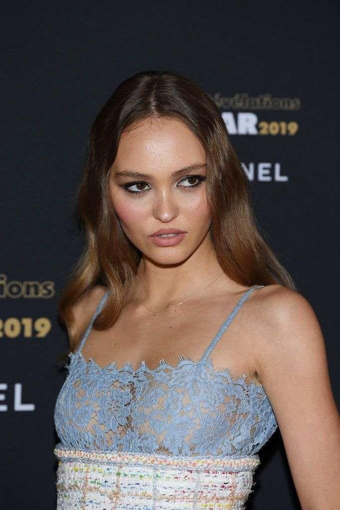 Lily-Rose Depp Enjoys The Cesar Revelations Bash 2019
