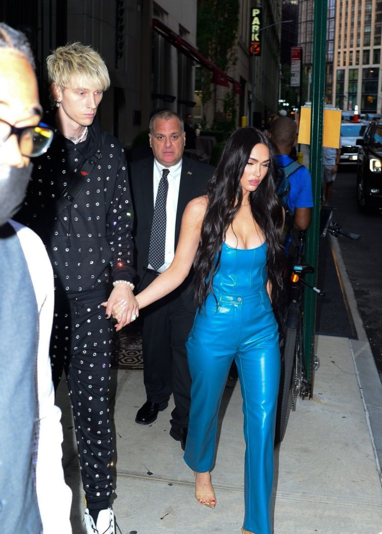 Megan Fox Spotted In Blue Out In New York