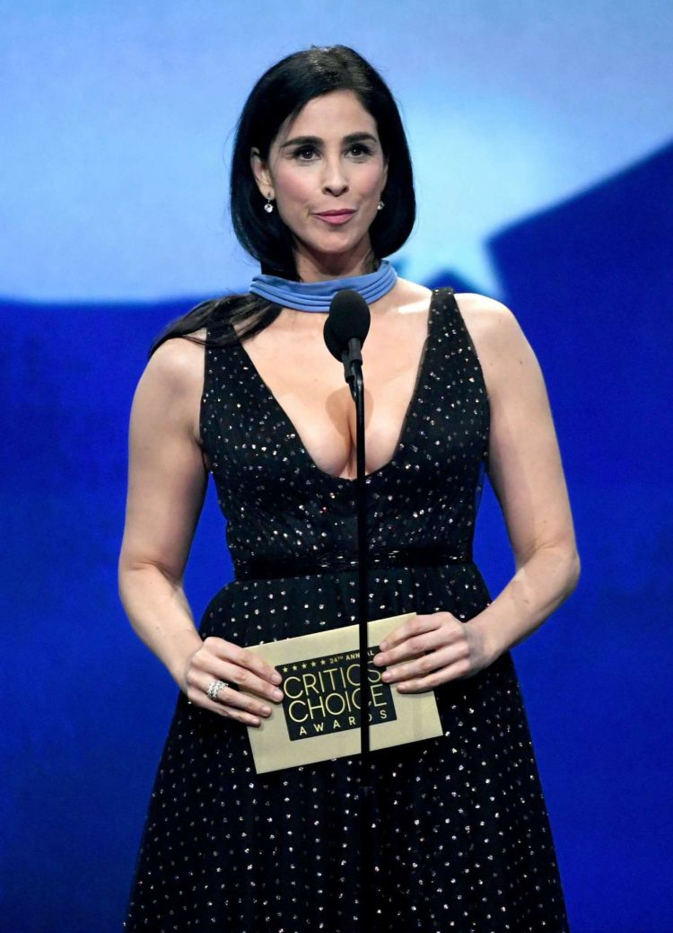 Sarah Silverman Shines At 24th Annual Critics Choice Awards
