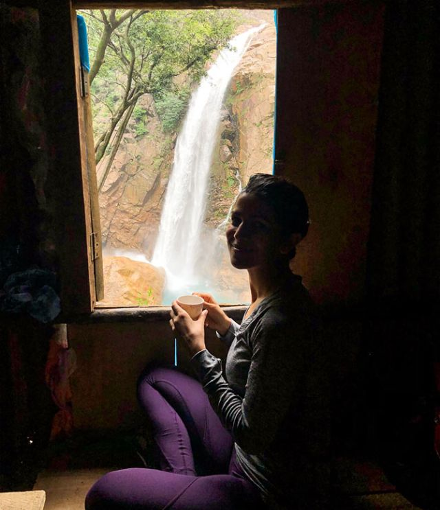 Nimrat Kaur In The 'Abode of the Clouds'