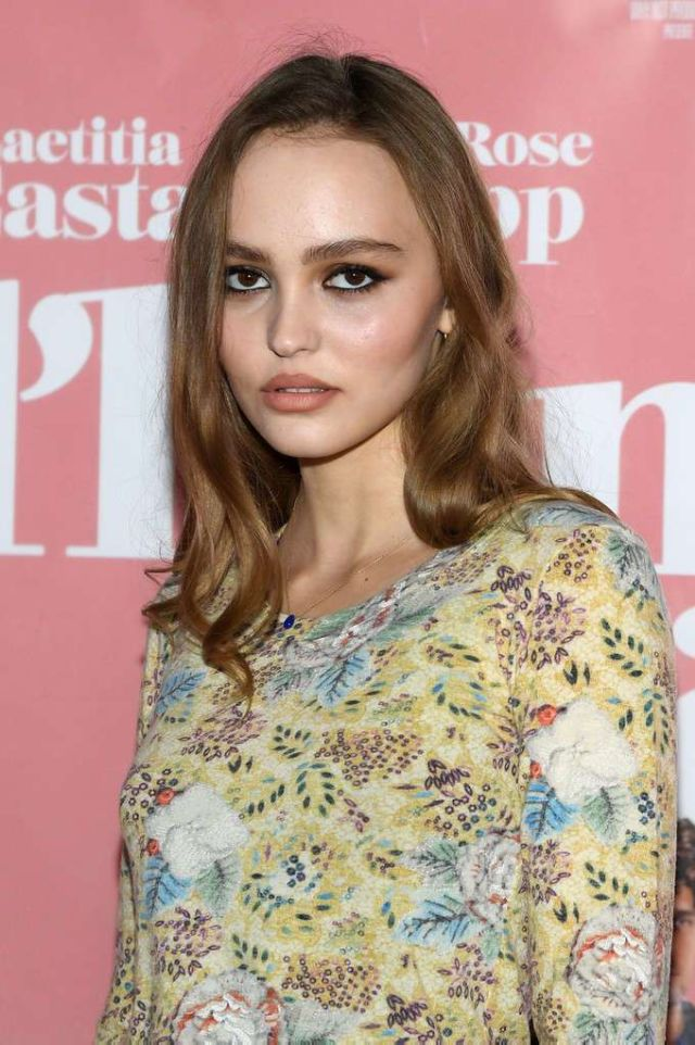 Lily-Rose Depp And Laetitia Casta Attend The Premiere Of L'Homme Fidele