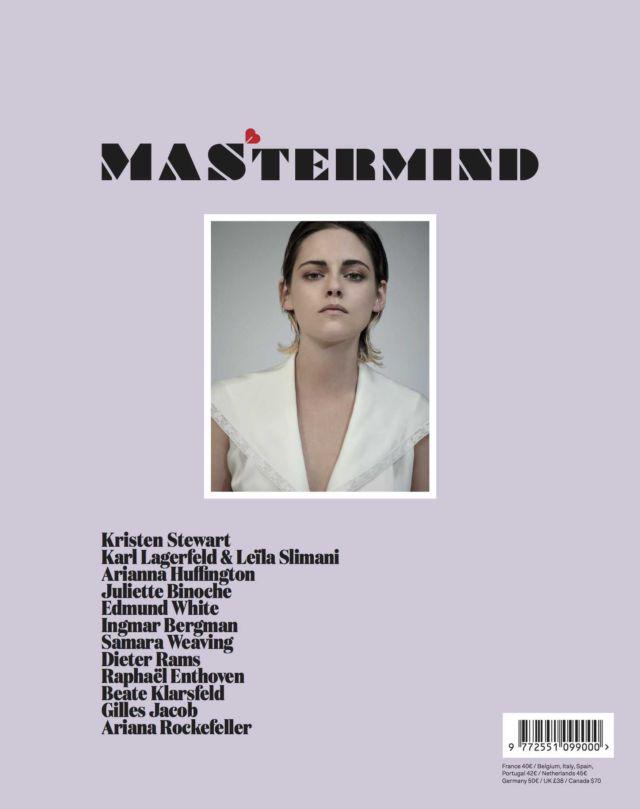 Kristen Stewart Shoots For Mastermind Magazine September 2018