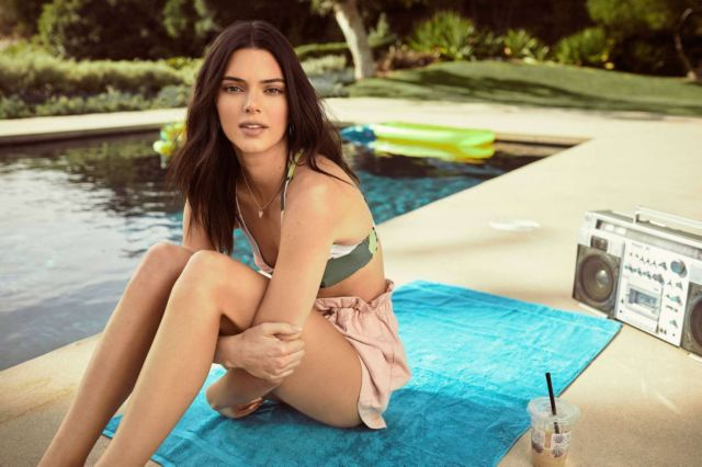 Kendall Jenner Looks Refreshing For Penshoppe Campaign Spring/Summer 2019