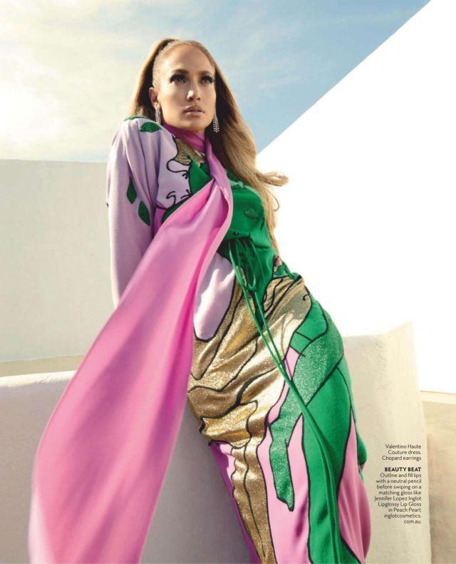 Jennifer Lopez Shoots For InStyle Magazine Australia January 2019