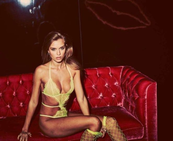 Josephine Skriver For 2019 Lingerie Shoot By Guy Aroch