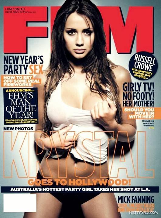 Stunning Krystal Forscutt for FHM