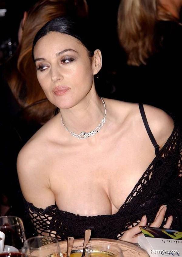 Famous Glam Model Monica Bellucci