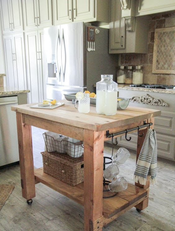 Mobile Kitchen Islands To Ease Up Your Life