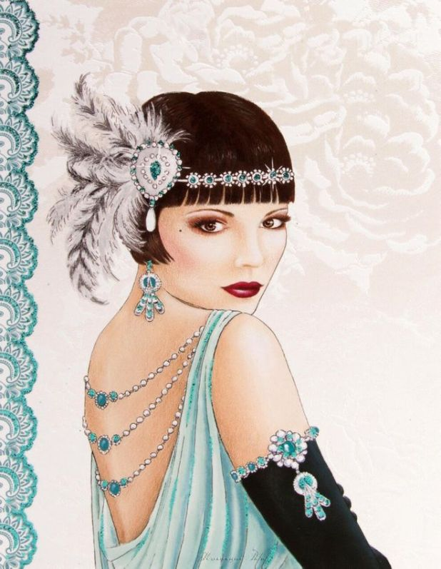 Beautiful Decorated Ladies Artwork