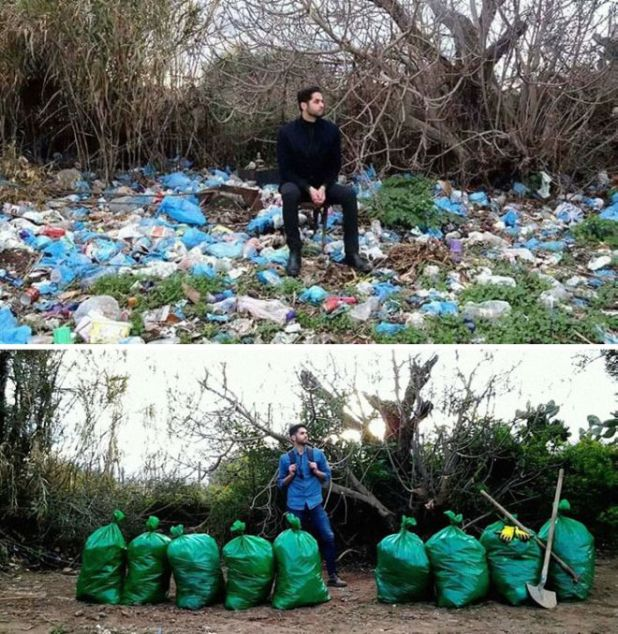 People That Took The #Trashtag Challenge