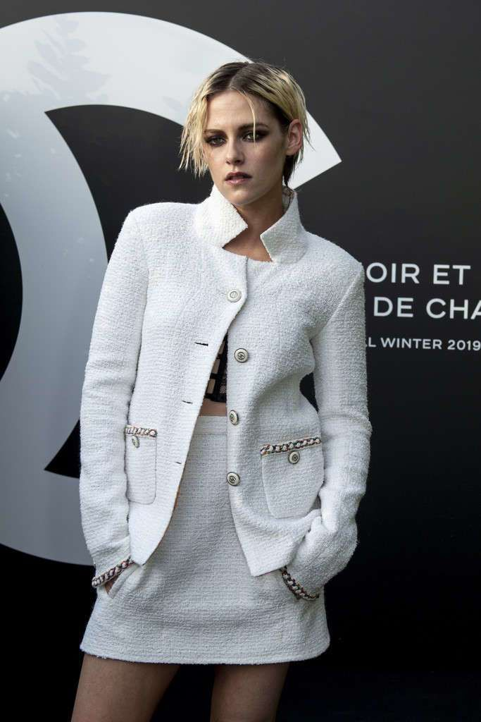 Kristen Stewart Showcasing Noir et Blanc de Chanel F/W 19 Makeup Collection