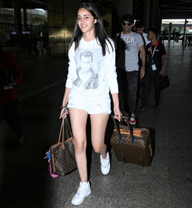 Ananya Pandey Will Woo You With Her Airport Look